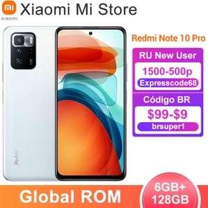 Xiaomi Redmi Note 10 Pro 6/128 Gb (в приложении, промокод только для новых пользователей)