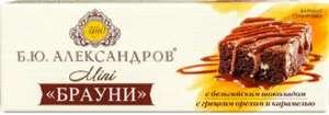 [СПб и ЛО] Сырок творожный «Б.Ю. Александров» Брауни Mini, 40 г+ 39₽ возврат на карту