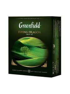 Чай зеленый в пакетиках Greenfield Flying Dragon, 100 шт