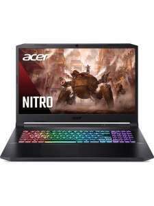 Ноутбук Acer Gaming AN517-41-R5M1 (17.3, FHD, AMD R5-5600H, 8Gb, 256GB SSD, No ODD, NVIDIA GF RTX 3060 6GB DDR6)