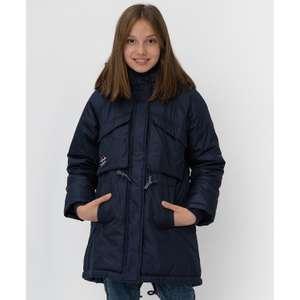 Демисезонное полупальто для девочек Button Blue (рр от 9 до 13 лет) на Tmall