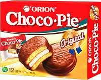 [Мск] Кондитерское изделие Orion Choco Pie 12 шт