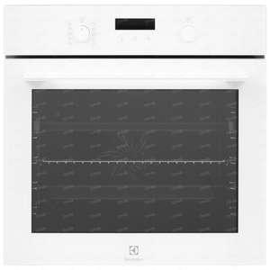 Электрический духовой шкаф ELECTROLUX OEE6C71V белый (выгодный комплект с аксессуаром)