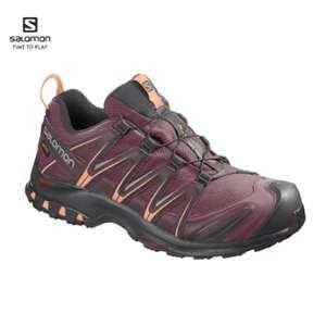 Женские кроссовки Salomon XA PRO 3D GTX W цвет бордо