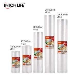 Вакуумные пищевые пакеты Tinton Life (5 рулонов, длина 500 см)
