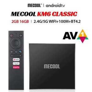 ТВ приставка Mecool KM6 Classic