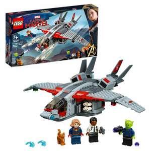 LEGO Marvel Super Heroes Капитан Марвел и атака скруллов 76127