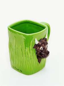Керамическая кружка и чёрный чай Befruitbe