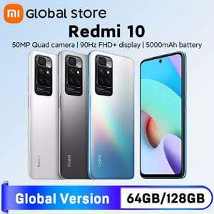 Смартфон Redmi 10 4+64Gb Global