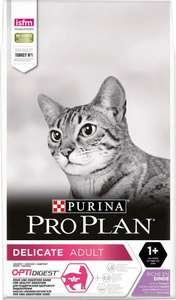 Сухой корм для кошек Pro Plan Delicate, индейка, 10 кг