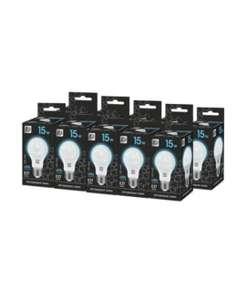 Упаковка светодиодных ламп 10 шт. ASD LED-A60-black 4000К, E27, A60, 15Вт