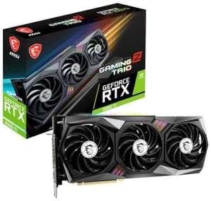 Видеокарта MSI GeForce RTX 3060 Ti GAMING Z TRIO 8G LHR 8GB