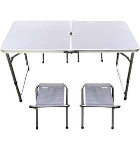 [Пермь, взм. другие] Набор для пикника Actiwell складной стол и 4 стула