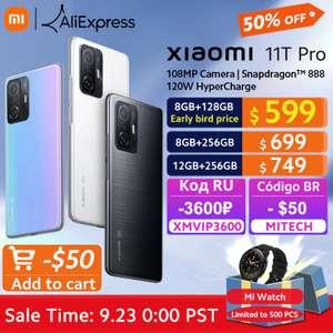 Смартфон Xiaomi 11T Pro 8/128gb (11t и 11 Lite 5G NE в описании)