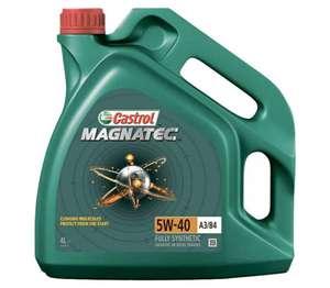 Синтетическое моторное масло Castrol Magnatec 5W-40 A3/B4, 4л (1320₽ в описании)