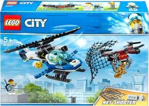 Конструктор LEGO City Police Воздушная полиция: погоня дронов