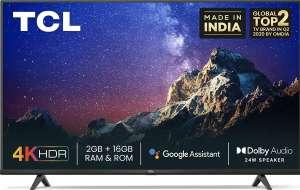 "Телевизор 4K 65"" TCL 65P615, 4K, SmartTV"