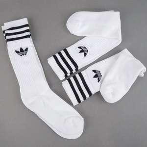 Три пары носков Adidas Crew