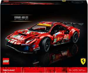 Конструктор LEGO Technic 42125 Ferrari 488 GTE AF Corse