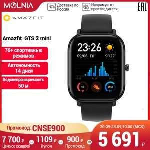 Умные часы Amazfit GTS 2 mini