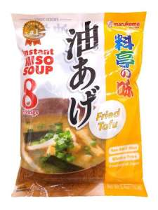 Мисо-суп Марукоме с жаренным тофу, консервированный, 8 порций, 180г., Япония