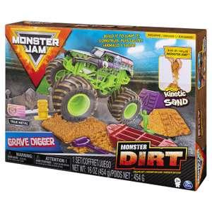 Набор Monster Jam №2 с машинкой и кинетическим песком и аксессуарами 6054964 (ещё наборы в описании)
