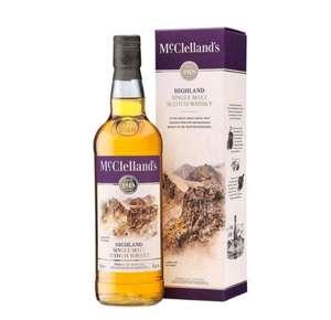 Подборка виски McClelland's и др. в описании