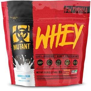 Сывороточный протеин Fit Foods, Mutant Whey, 2270 г, Ваниль