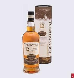 Виски Tomintoul Speyside Glenlivet Oloroso Sherry Cask Finish Single Malt Scotch Whisky 12 y.o. (gift box) 0.7л