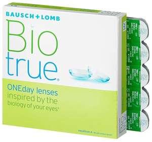 Контактные линзы Bausch & Lomb Biotrue ONEday, 90 шт.