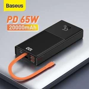 Повербанк Baseus 65w 20000mah