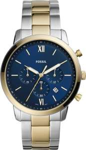 Подборка часов Fossil часть 4 (напр., мужские стальные наручные часы Fossil FS5706)