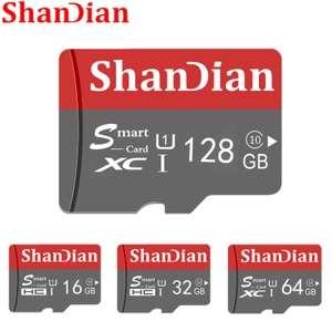 SD карта памяти Shandian на 64 ГБ для новых пользователей