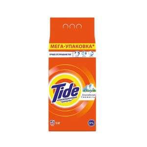 Стиральный порошок Tide Автомат Альпийская свежесть 9 кг х 2 пачки (57,5₽ за 1 кг)