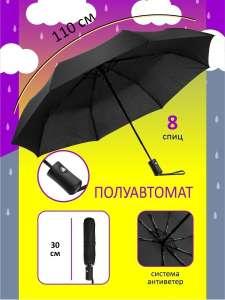 Зонт полуавтомат [ЗАКОНЧИЛИСЬ]