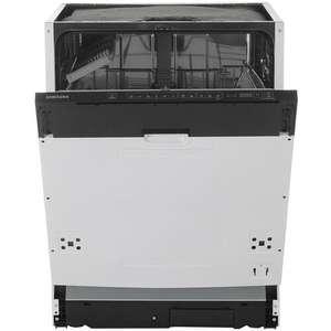 Встраиваемая посудомоечная машина Samsung DW60M6040BB/WT
