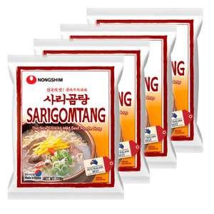Лапша быстрого приготовления Саригомтанг Nongshim, пачка 110 г х 4 шт