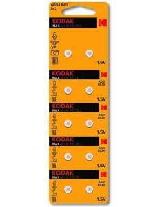 Батарейки Kodak LR45/AG9 10 шт (LR57 и LR48 в описании)