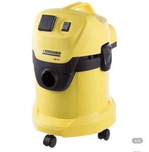 Строительный пылесос KARCHER WD 3 P желтый [1.629-880.0] (по карте МИР цена дешевле)