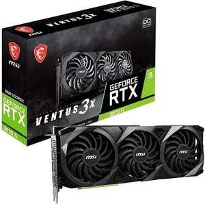 Видеокарта MSI GeForce RTX 3070 Ti VENTUS 3X 8G OC (из-за рубежа)