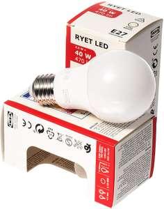 Светодиодная лампа E27 470 лм ИКЕА РИЭТ (IKEA RYET)
