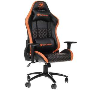[Мск] Кресло игровое Cougar Rampart оранжевый