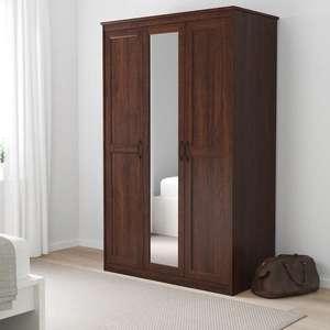 Шкаф с зеркалом IKEA Songesand Сонгесанд