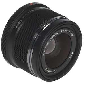 Объектив Olympus 25mm F1.8 с байонетом Micro 4/3