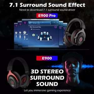 Игровая гарнитура EKSA E900 Pro (звук 7.1), базовая E900 за 833₽