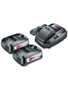 Набор из 2-х аккумуляторов BOSCH PBA 18 2.5 А*ч и зарядного устройства AL 1830 CV, 1600A011LD