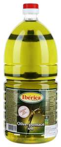 Iberica масло оливковое Pomace, пластиковая бутылка, 2л (рафинированное)