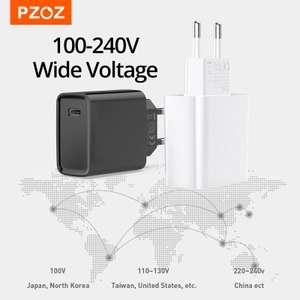 Зарядное устройство PZOZ PD 20 Вт для iPhone 13 и т.д.