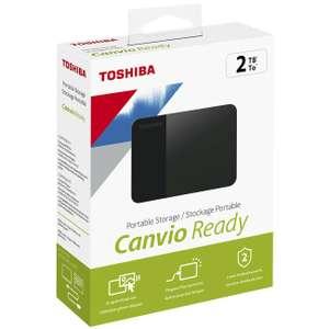 "Внешний жесткий диск 2.5"" Toshiba 2Tb Canvio Ready (HDTP320EK3AA)"