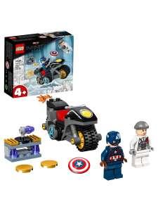 Конструктор LEGO Marvel Avengers Movie 4 (76189) Битва Капитана Америка с Гидрой